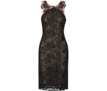 Embellished Tulle Dress Schwarz