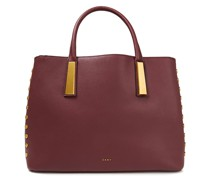 Ewen Pebbled-leather Tote
