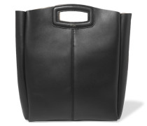 Leather Tote Schwarz
