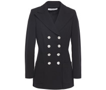 Double-breasted Ponte Blazer