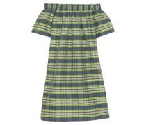 Collection Mistflower off-the-shoulder silk mini dress