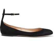Tango Suede Ballet Flats