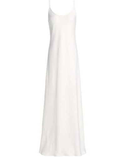 Open-back Crepe Gown Ivory Size 12
