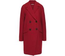 Finola textured-wool coat