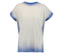 Cotton-jersey T-shirt Wollweiß