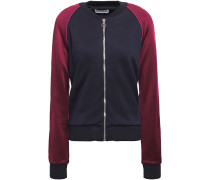 Two-tone French-terry Track Jacket