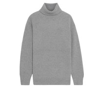 Astrid Ribbed Wool-blend Turtleneck Sweater