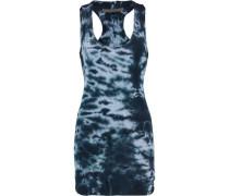 Printed cotton-jersey mini dress