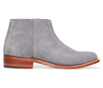 Becky Suede Ankle Boots Grau