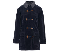 Cotton-blend Corduroy Coat Mitternachtsblau