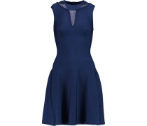 Bay Stretch-knit Mini Dress Indigo