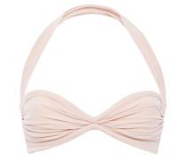 Ruched Halterneck Bikini Top