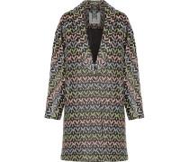 Lola Metallic Brocade-cloqué Coat Mehrfarbig