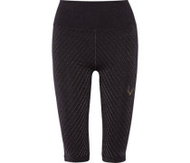 Technical Knit Stardust metallic stretch leggings