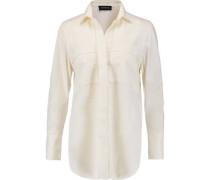 Isla cotton-poplin shirt