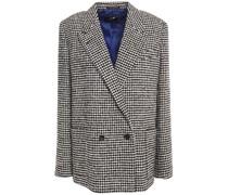 Blazer aus Bouclé-tweed mit Hahnentrittmuster