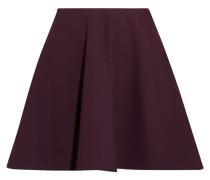 Marina Stretch-ponte Mini Skirt Burgunder
