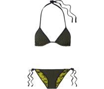 Moss + Kate Reversible Printed Triangle Bikini