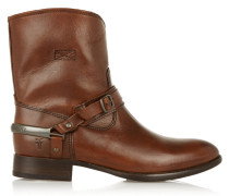 Lindsay Leather Ankle Boots Braun