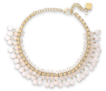 Verbier Gold-tone Quartz Necklace