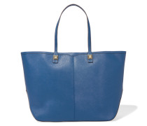 Everywhere Leather Tote Blau