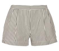 Cotton-blend Jersey Shorts Elfenbein
