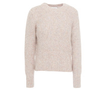 Yona Marled Brushed Knitted Sweater