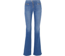 Katie High-rise Flared Jeans Mittelblauer Denim