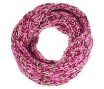 My Boyfriend Chunky-knit Merino Wool Snood Pink