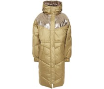 Doudoune Quilted Foiled Shell Coat
