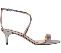 Smart Cocktail Metallic Leather Sandals