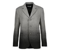 Ombré Wool-blend Jacket Grau