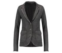 Cotton And Cashmere-blend Blazer Dunkelgrau