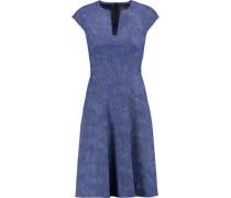 Blair embellished cotton-blend jacquard dress