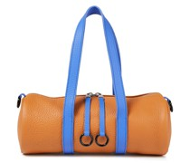 Toolkit Pebbled-leather Tote