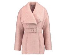 Amy Bouclé Coat Pastellrosa