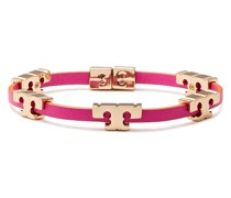 Gold-tone Leather Bracelet