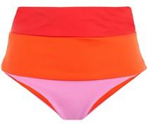 Lydia Wendbares, Hoch Sitzendes Bikini-höschen in Colour-block-optik