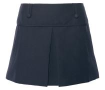 Grenoble Stretch Cotton-blend Mini Skirt Navy