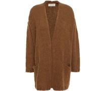 Oversized Ribbed-knit Cardigan