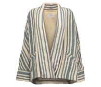 Carson Cotton Coat Ecru