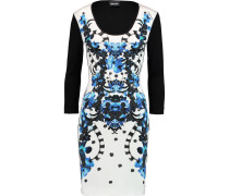 Printed Stretch-jersey Dress Mehrfarbig