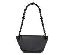 Bend Pebbled-leather Shoulder Bag