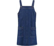 Denim Mini Dress Dunkler Denim