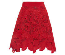 Embroidered Cotton Skirt Rot
