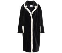 Marianne Two-tone Faux Fur Coat