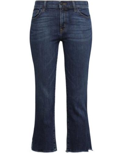Cropped Mid-rise Skinny Jeans Dark Denim  3