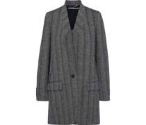 Bryce Herringbone Wool-blend Coat