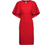 Layered Crepe Dress Rot
