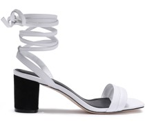 Lauren Textured-leather Sandals